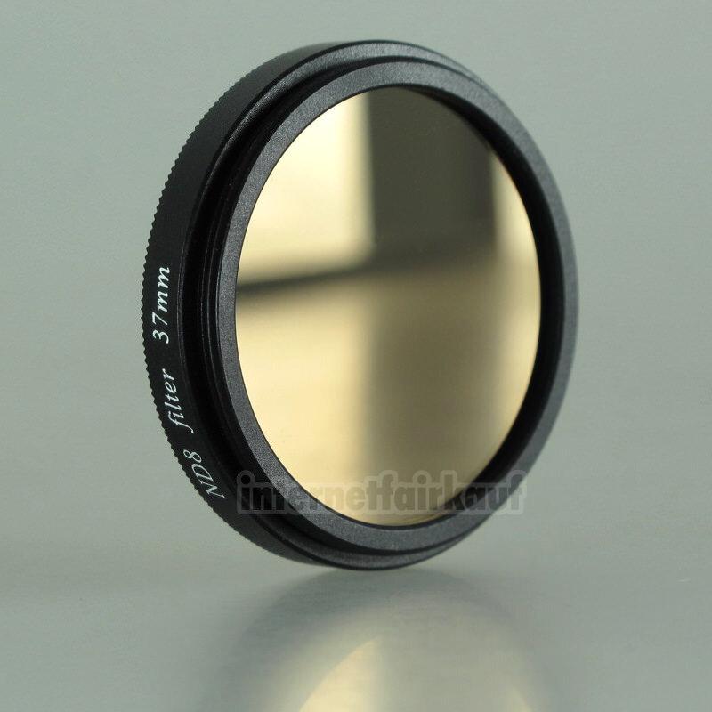 Graufilter ND8 Neutral Density passend für Olympus PEN E-PL7 E-PL8 mit 14-42mm Obj.