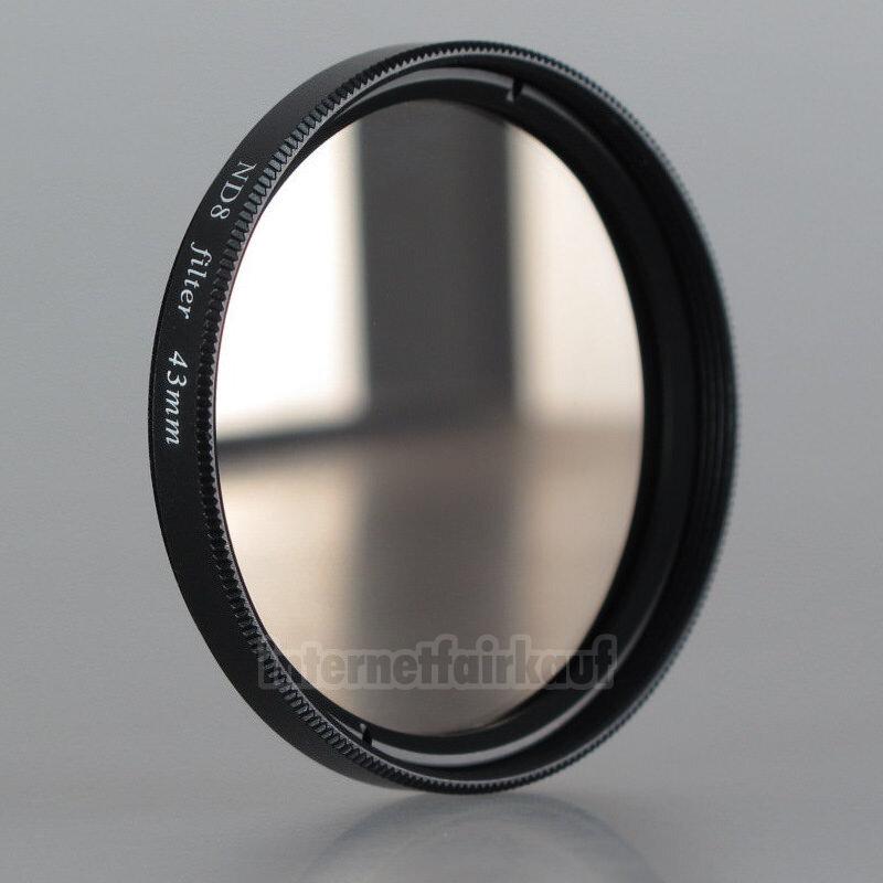 Graufilter ND8 Neutral Density passend für Canon Legria HF R87 HF R86