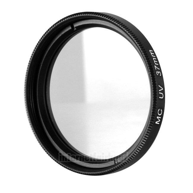 UV Filter Schutzfilter passend für Panasonic Lumix GX80 mit 12-32mm Objektiv
