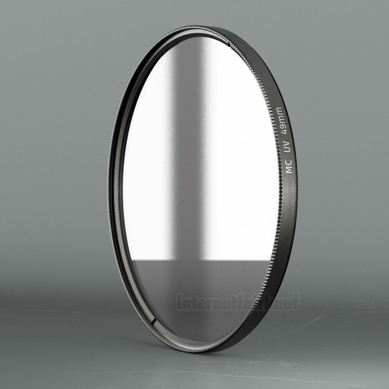 UV Filter Schutzfilter passend für Sony Alpha A5000 A5100 A6000 und 55-210mm Objektiv