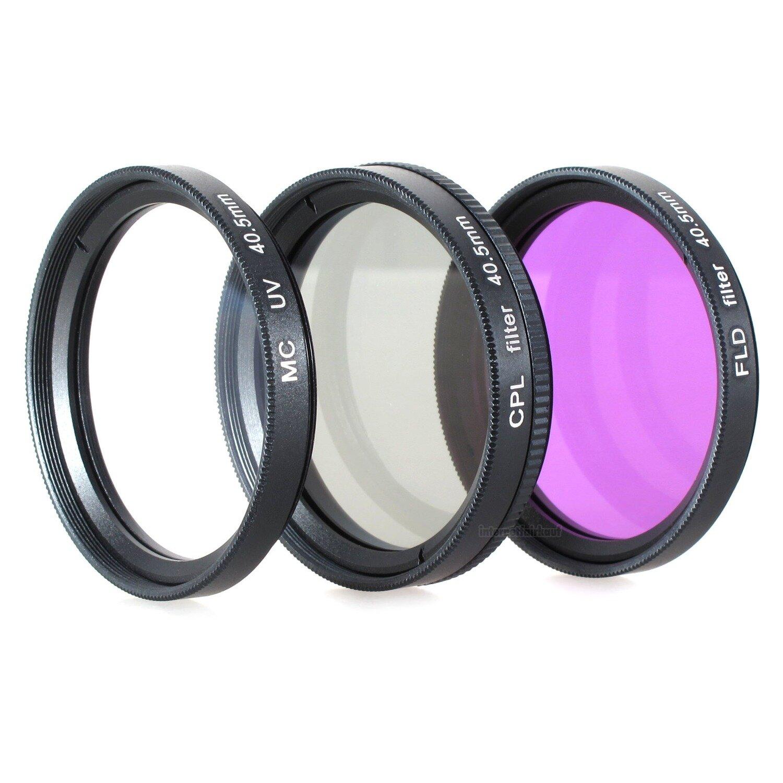UV POL FD Filter Set passend für Sony Alpha A6300 A6500 und 16-50mm Objektiv