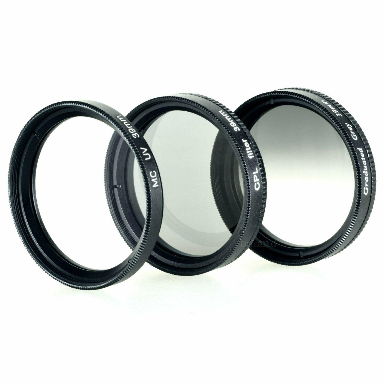 UV + Pol + Grauverlaufsfilter 39mm