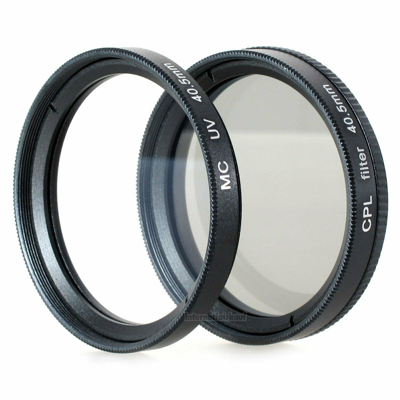 UV + Pol-Filter passend für Sony Alpha A6300 A6500 und 16-50mm Objektiv