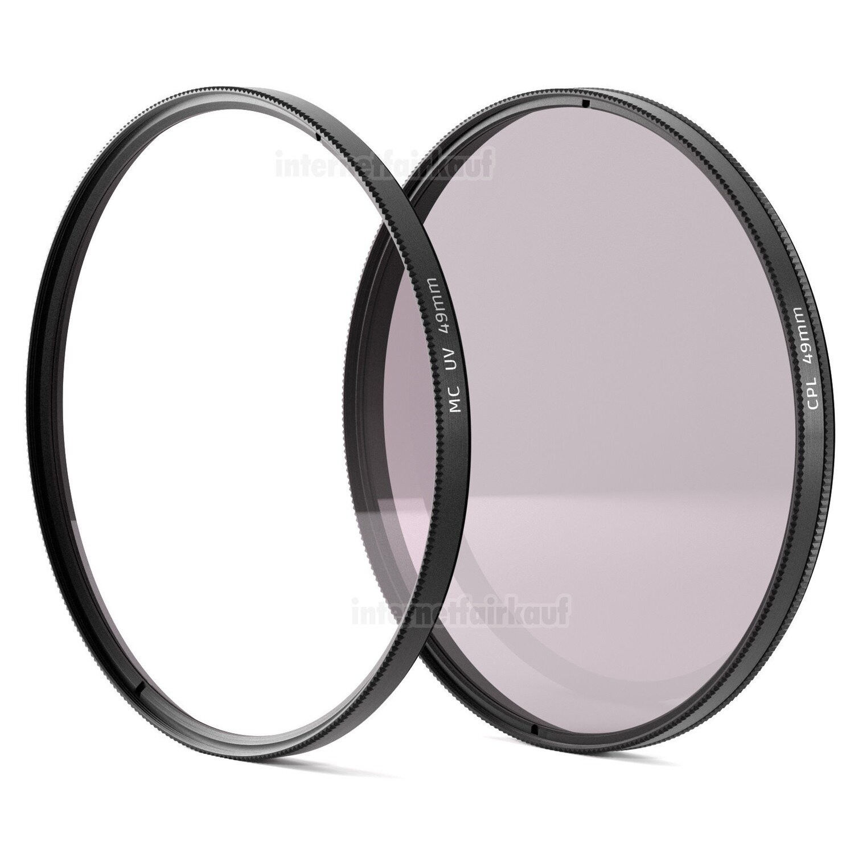 Set UV + Pol-Filter passend für Panasonic HC-V777 HC-VX878