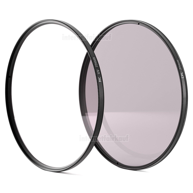 UV + Pol Filter 77mm