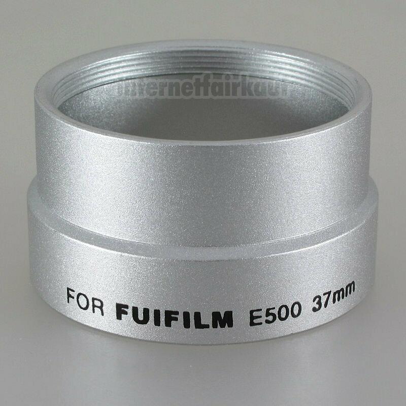 Adapter Tubus für Fuji Finepix E500 E510, 37mm