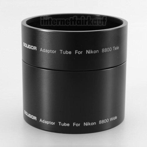 Adapter Tubus für Nikon Coolpix 8800 62mm