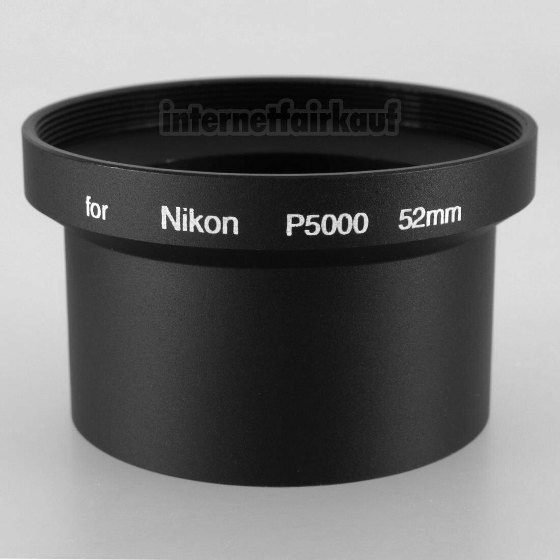 Adapter Tubus für Nikon Coolpix P5000 P5100