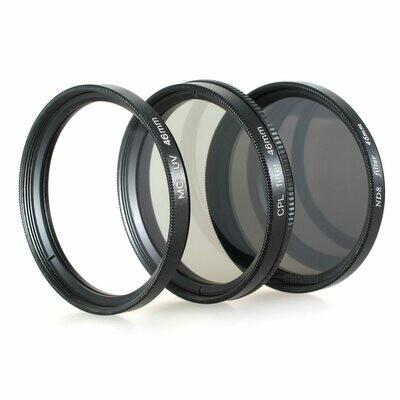 UV + Pol + ND8 Filter 46mm