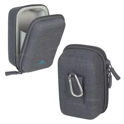 Riva Case 7510 Hardcase Kameratasche canvas grau