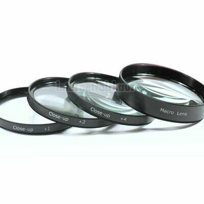 55mm Close Up / Makro Nahlinsen Set +1 +2 +4 +10
