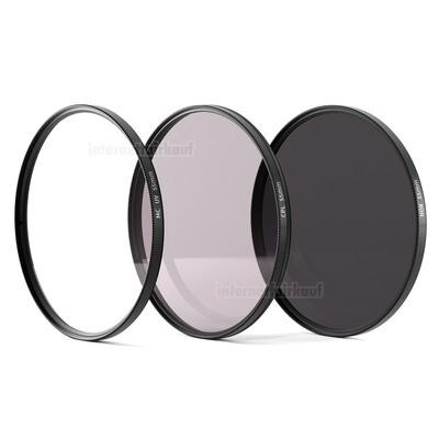 UV + Pol + ND8 Filter 55mm