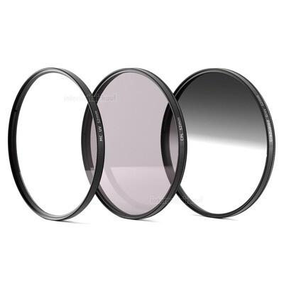 UV + Pol + Grauverlaufsfilter 52mm