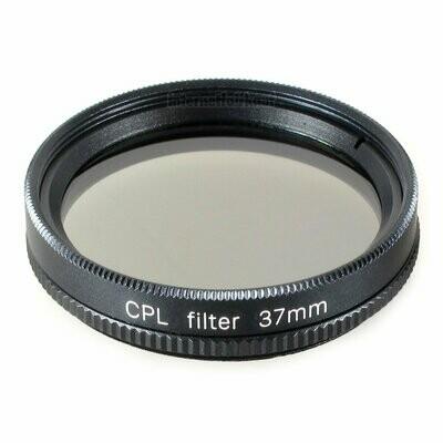 Polfilter circular 37mm, schwarz