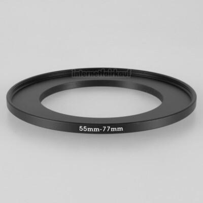 55-77mm Adapterring Filteradapter