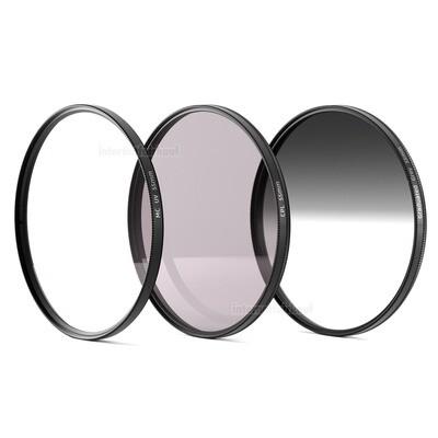 UV + Pol + Grauverlaufsfilter 55mm