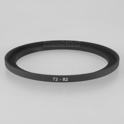 72-82mm Adapterring Filteradapter