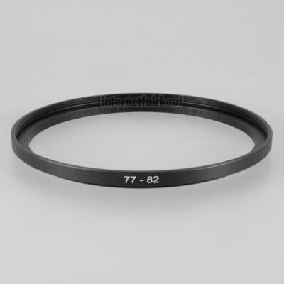 77-82mm Adapterring Filteradapter