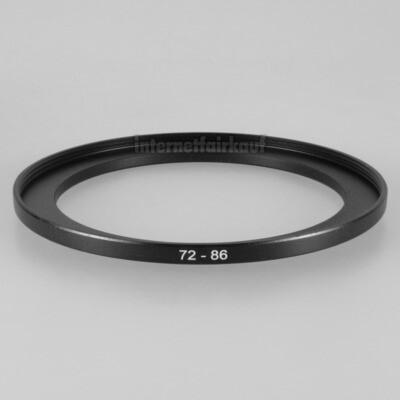 72-86mm Adapterring Filteradapter