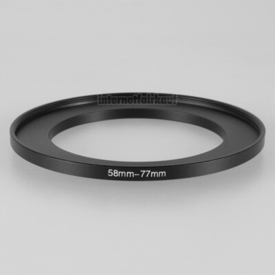 58-77mm Adapterring Filteradapter