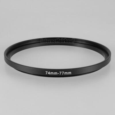 74-77mm Adapterring Filteradapter