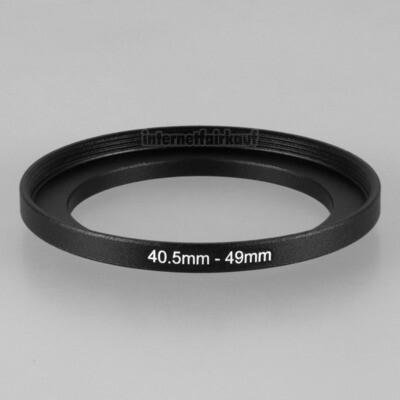 40.5-49mm Adapterring Filteradapter
