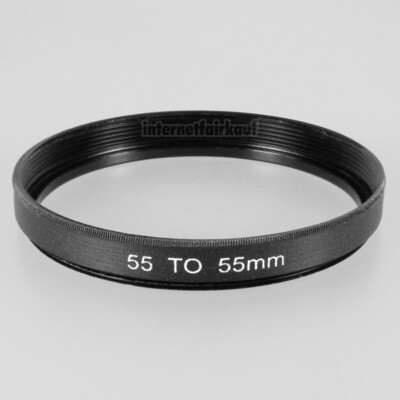55-55mm Adapterring Distanzring