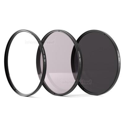 UV + Pol + ND8 Filter 49mm