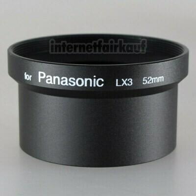 Adapter Tubus für Panasonic LX3