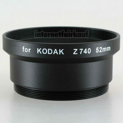 Adapter Tubus für Kodak Z740