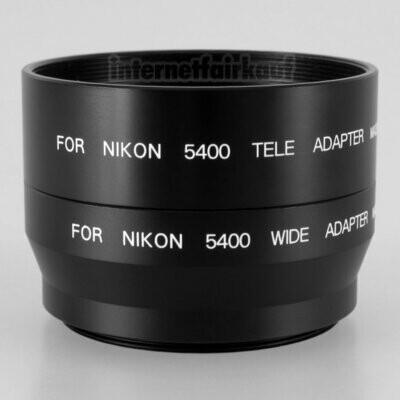 Adapter Tubus für Nikon Coolpix 5400