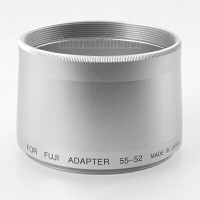 Adapter Tubus für Fuji S7000 S602 6900 4900, silber