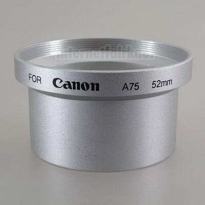 Adapter Tubus für Canon Powershot A60 A70 A75 A85