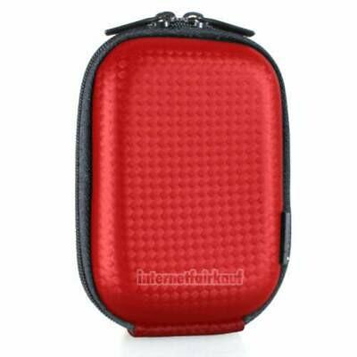 Hama Kameratasche Hardcase Carbon Style 40G rot