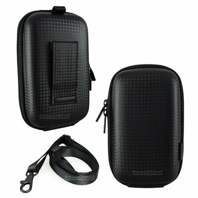 Hama Kameratasche Hardcase Carbon Style 80J schwarz
