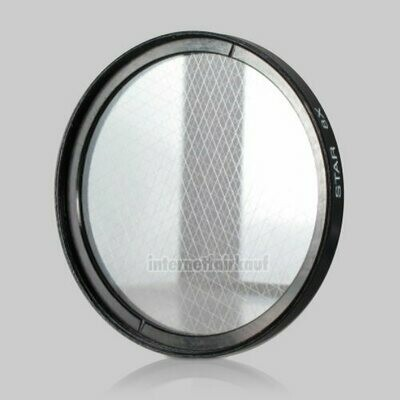 8x Sternfilter / 8-fach Cross Starlight Filter 62mm