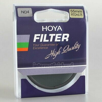 Hoya Standard Graufilter ND4 55mm