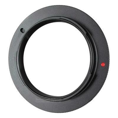 Umkehrring Retro-Adapter für 49mm passend für Sony E-Mount NEX und ILCE Kameras