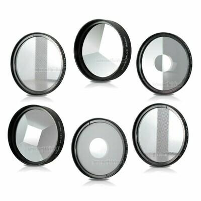 82mm 6-fach Set Spezial Effekt Filter Effektfilter Effektlinsen