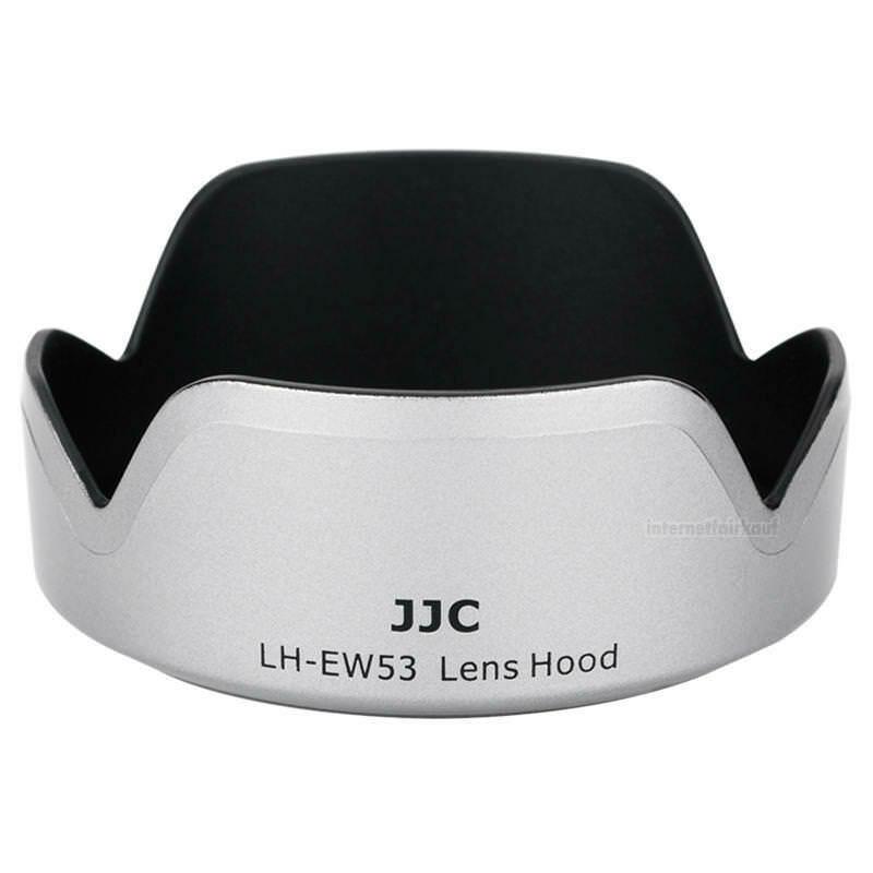 JJC LH-EW53 Gegenlichtblende silber - Ersatz für Canon EW-53