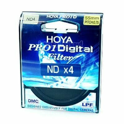 Hoya Pro1D Graufilter ND4 55mm