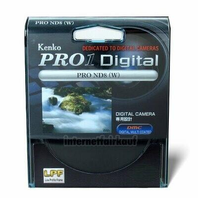 Kenko Pro1D Graufilter ND8 62mm
