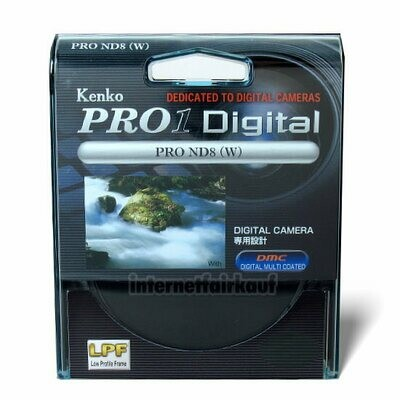 Kenko Pro1D Graufilter ND8 58mm