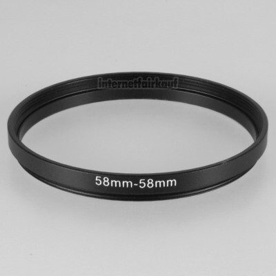 58-58mm Adapterring Distanzring