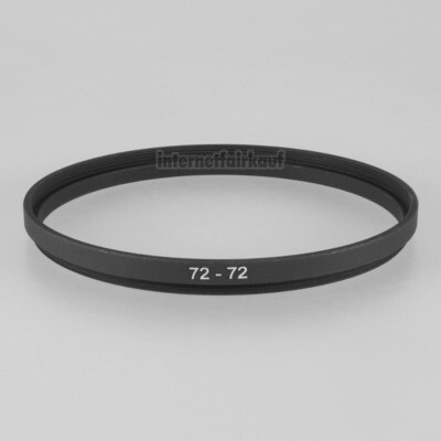 72-72mm Adapterring Distanzring