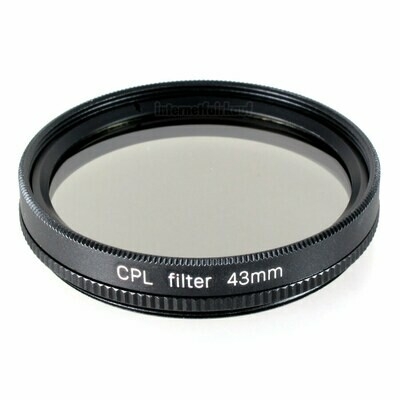 Polfilter circular 43mm CPL