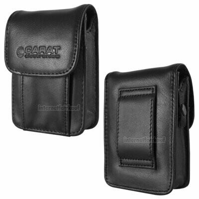 Gürteltasche Kameratasche passend für Canon IXUS 230 HS - Leder Etui