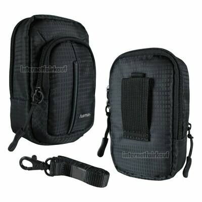 Tasche Fototasche schwarz passend für Canon PowerShot G7X G7X Mark II, III