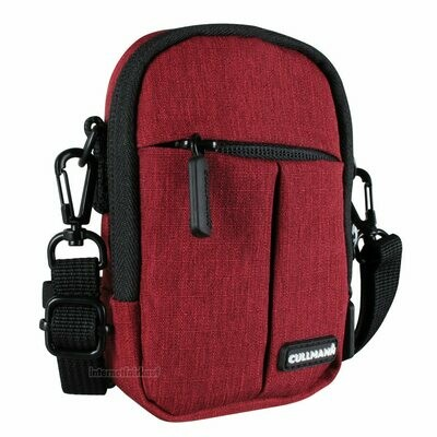 Kameratasche Schultertasche rot passend für Fuji Fujifilm XQ2 - Kamera-Tasche