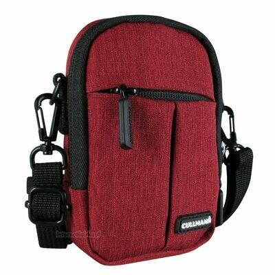 Kameratasche Schultertasche rot passend für Panasonic Lumix DMC-TZ18 TZ22